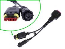 3824-40: Cable,Y,4-Pin,Claas