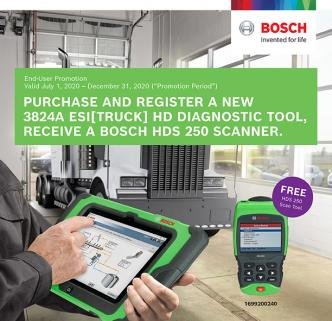 Bosch ESI[truck] HD Diagnostic Tool Promotion